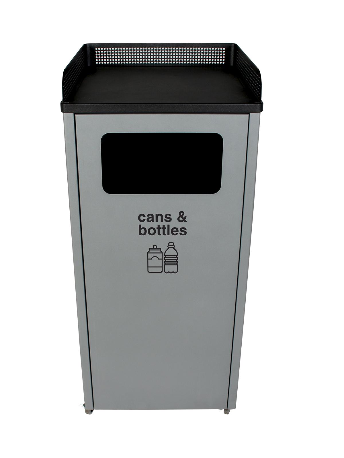 COURTSIDE - Single - Cans & Bottles - Full - Grey-Black