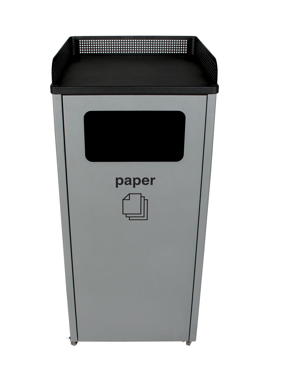 COURTSIDE - Single - Paper - Full - Grey-Black