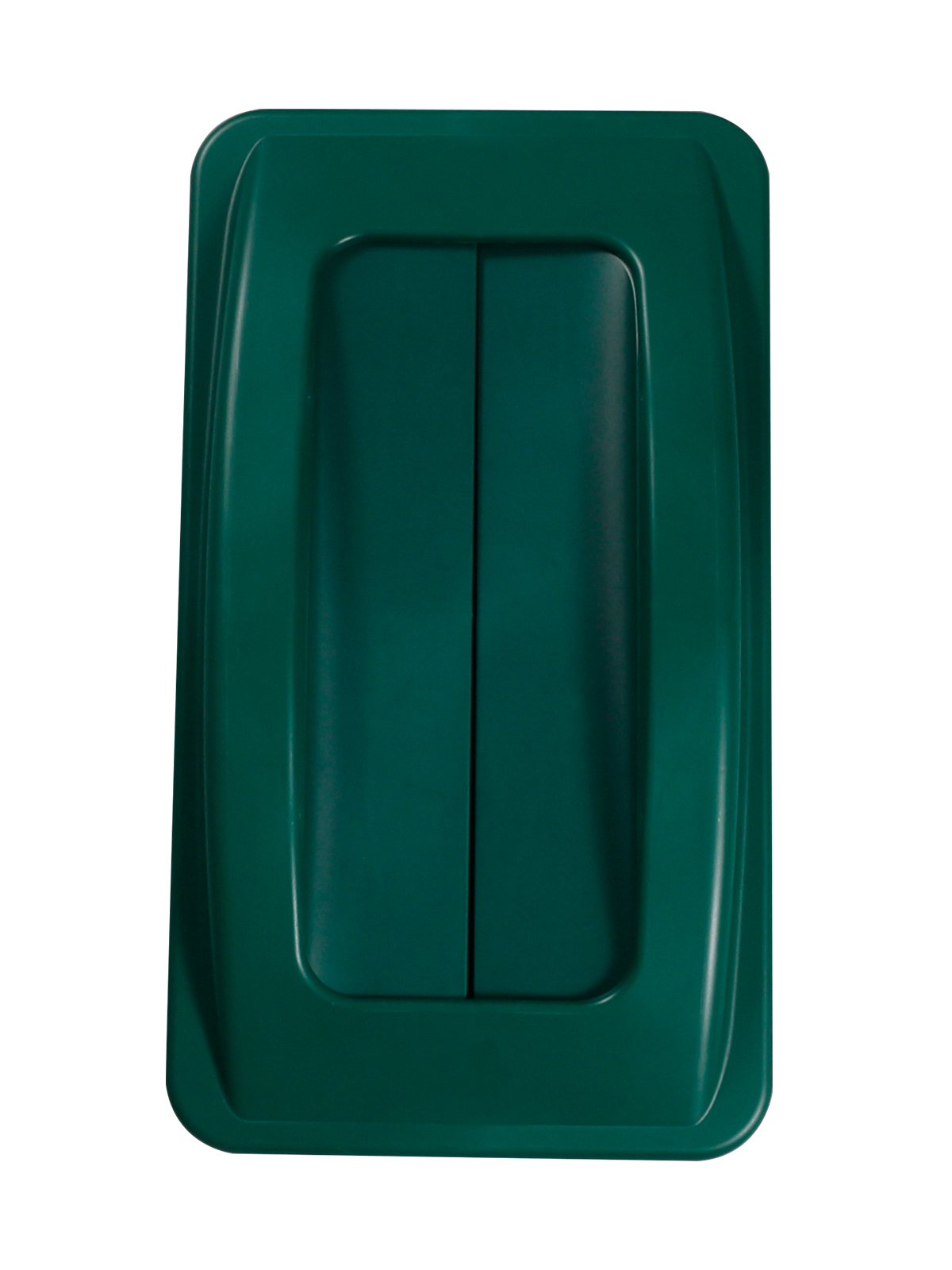 WASTE WATCHER - Single - Lid - Swing - Dark Green