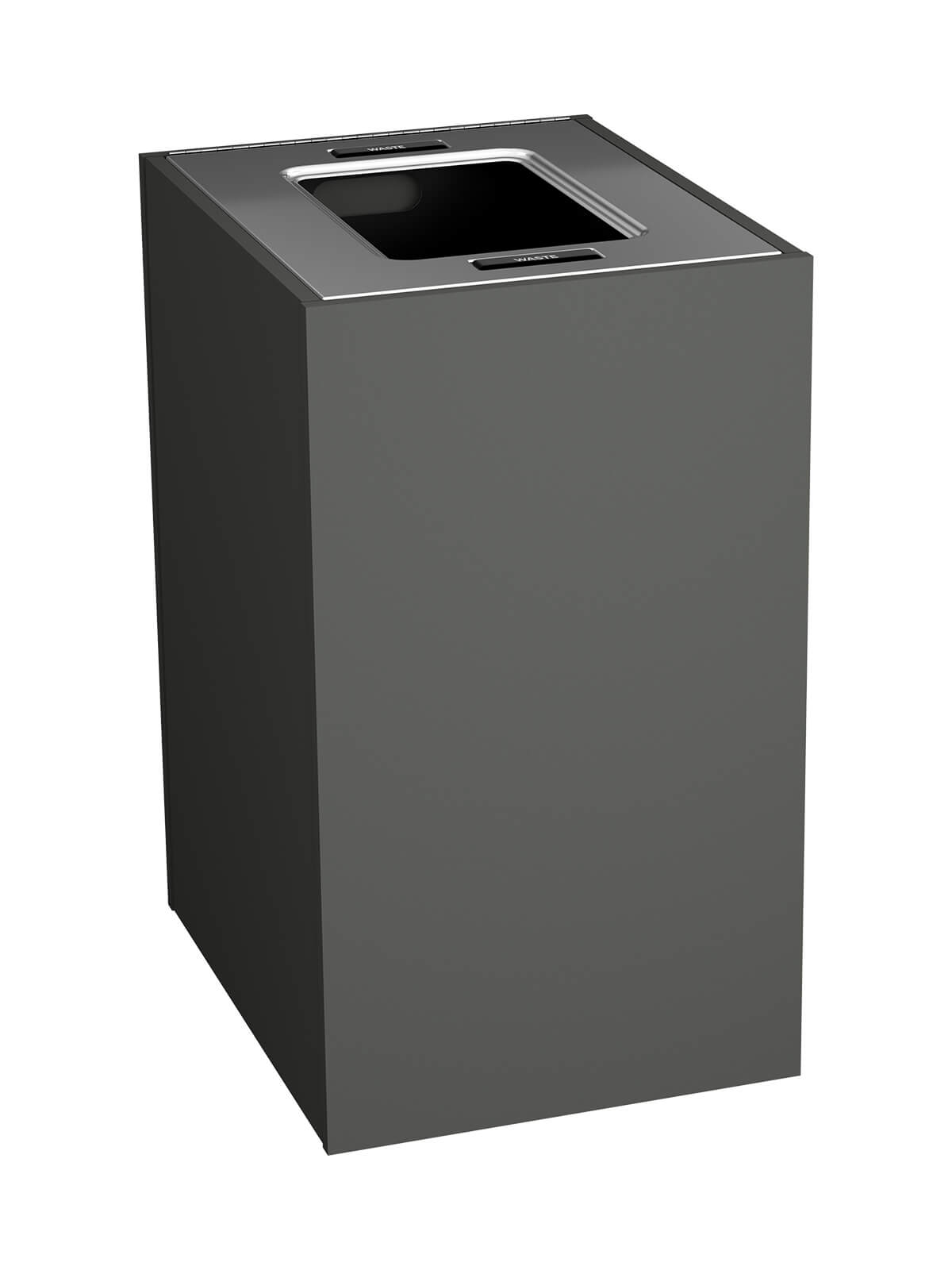 ARISTATA - Single - Xl - Waste - Full - Slate-Stainless Steel