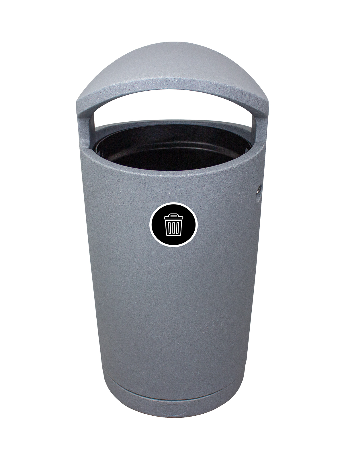 EURO - Single - Waste - Full - Greystone