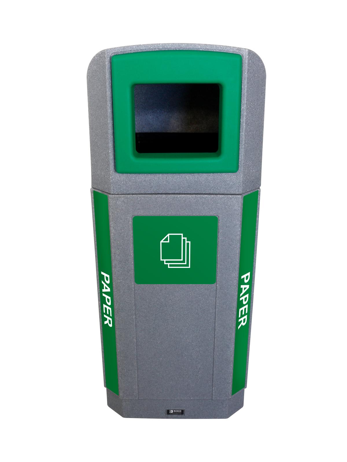 OCTO - Single - Outdoor - Paper - Full - Greystone-Green
