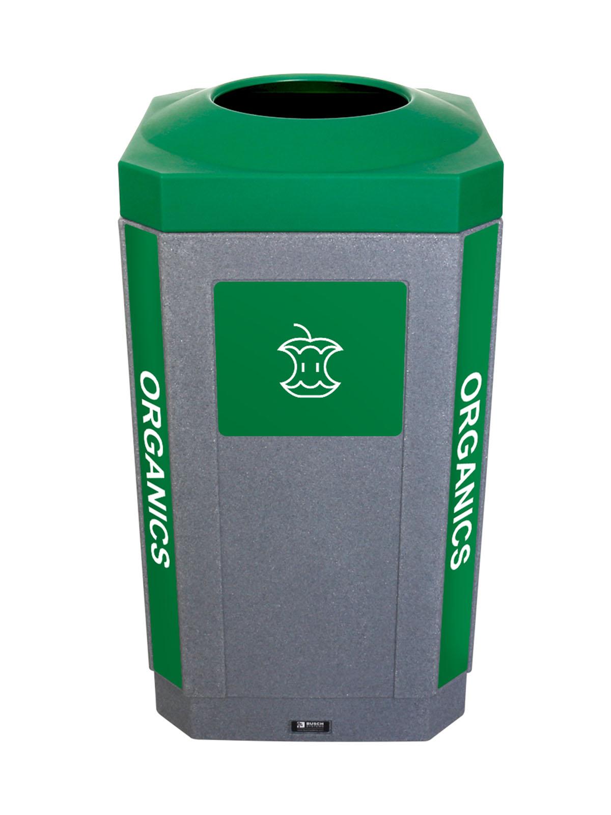 OCTO - Single - Indoor - Organics  - Full - Greystone-Green