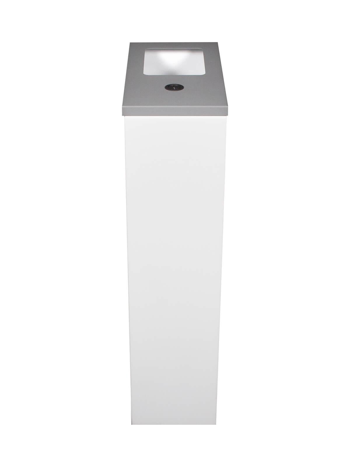 SPECTRUM WASTE & WIPES - Single - Wipes-Full - White-Sandtex Silver