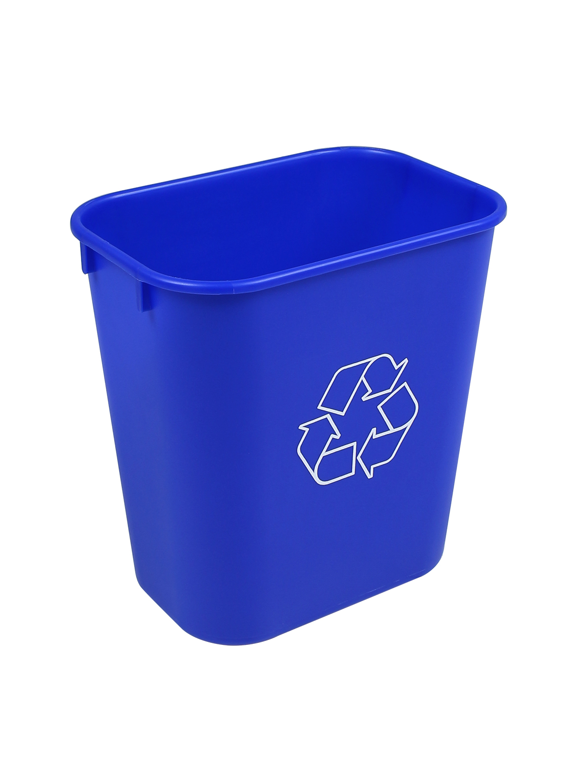 RECYCLING & WASTE BASKET - Body - 14 Q - Mobius Loop - Royal Blue