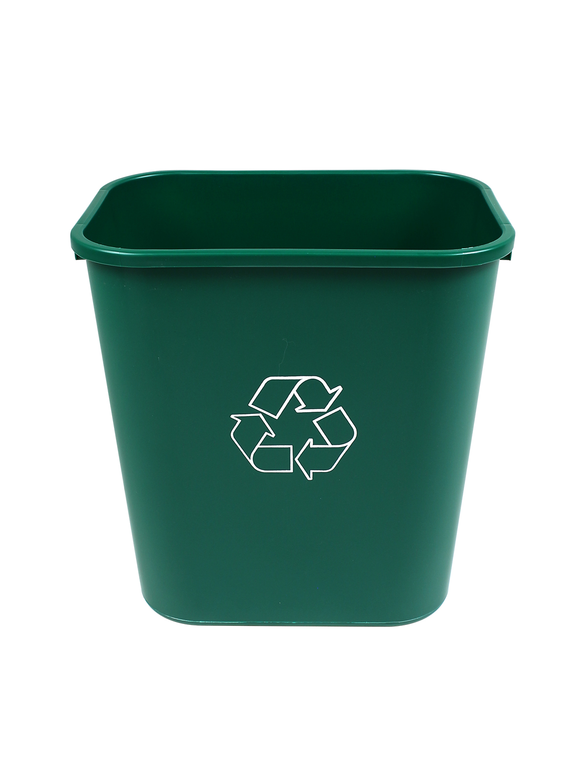 RECYCLING & WASTE BASKET - Body - 28 Q - Mobius Loop - Dark Green