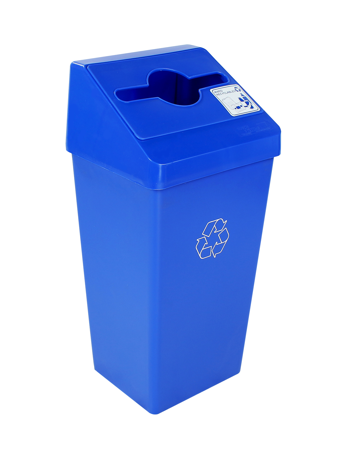 SMART SORT - Single - Mixed Recyclables - Mixed - Blue