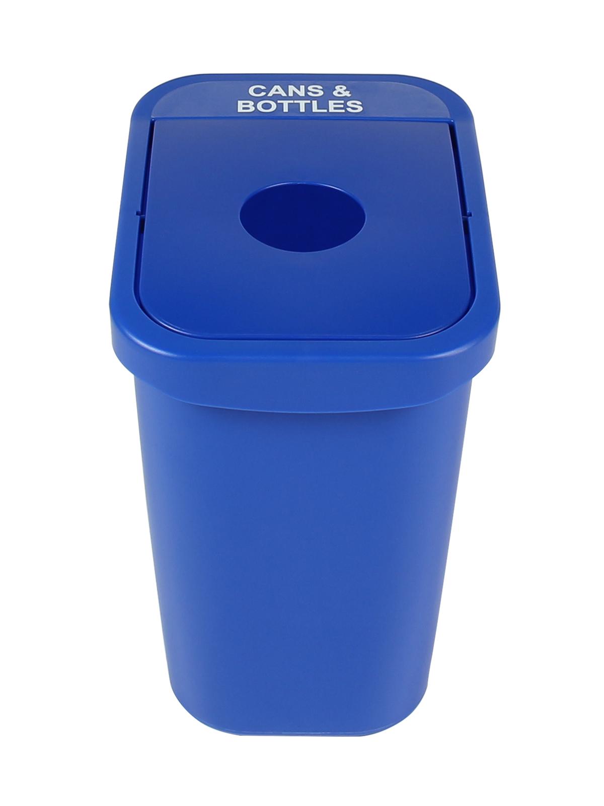 BILLI BOX - Single - 7 G - Cans & Bottles - Circle - Blue