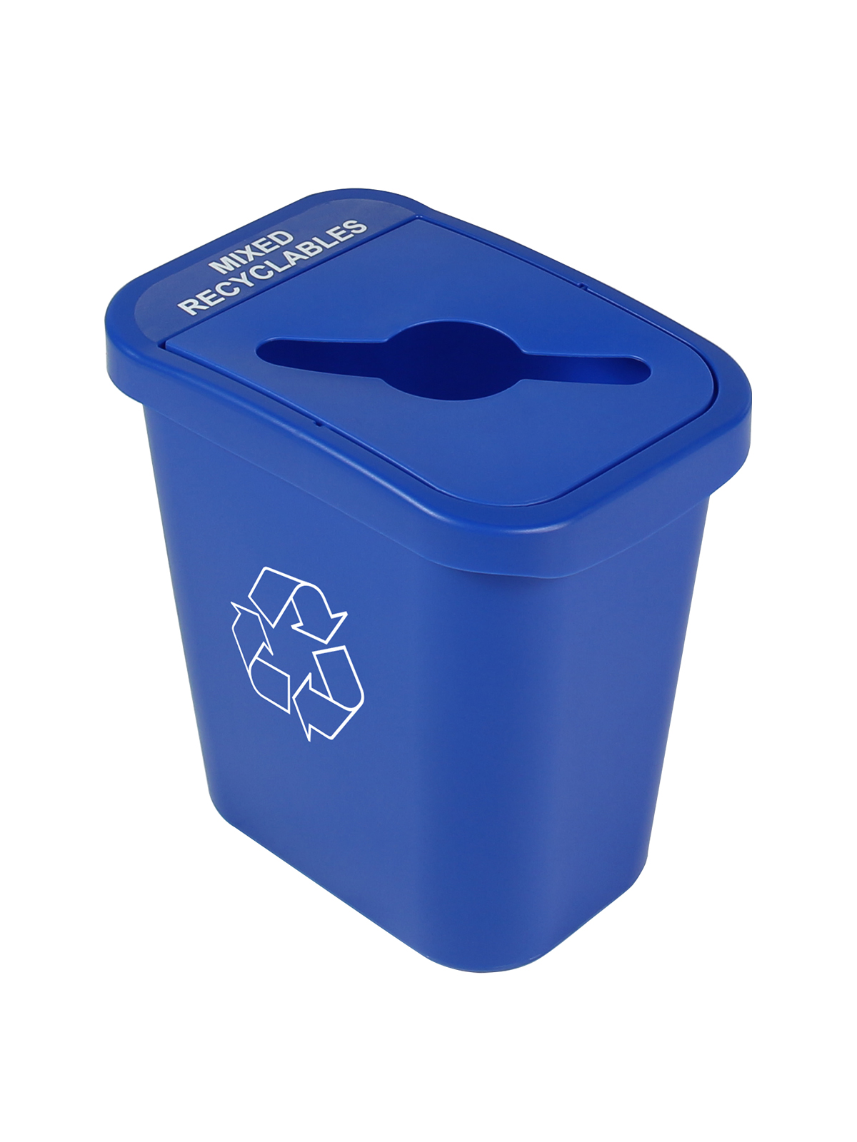BILLI BOX - SINGLE 7 G - MIXED - BLUE - MIXED RECYCLABLES title=