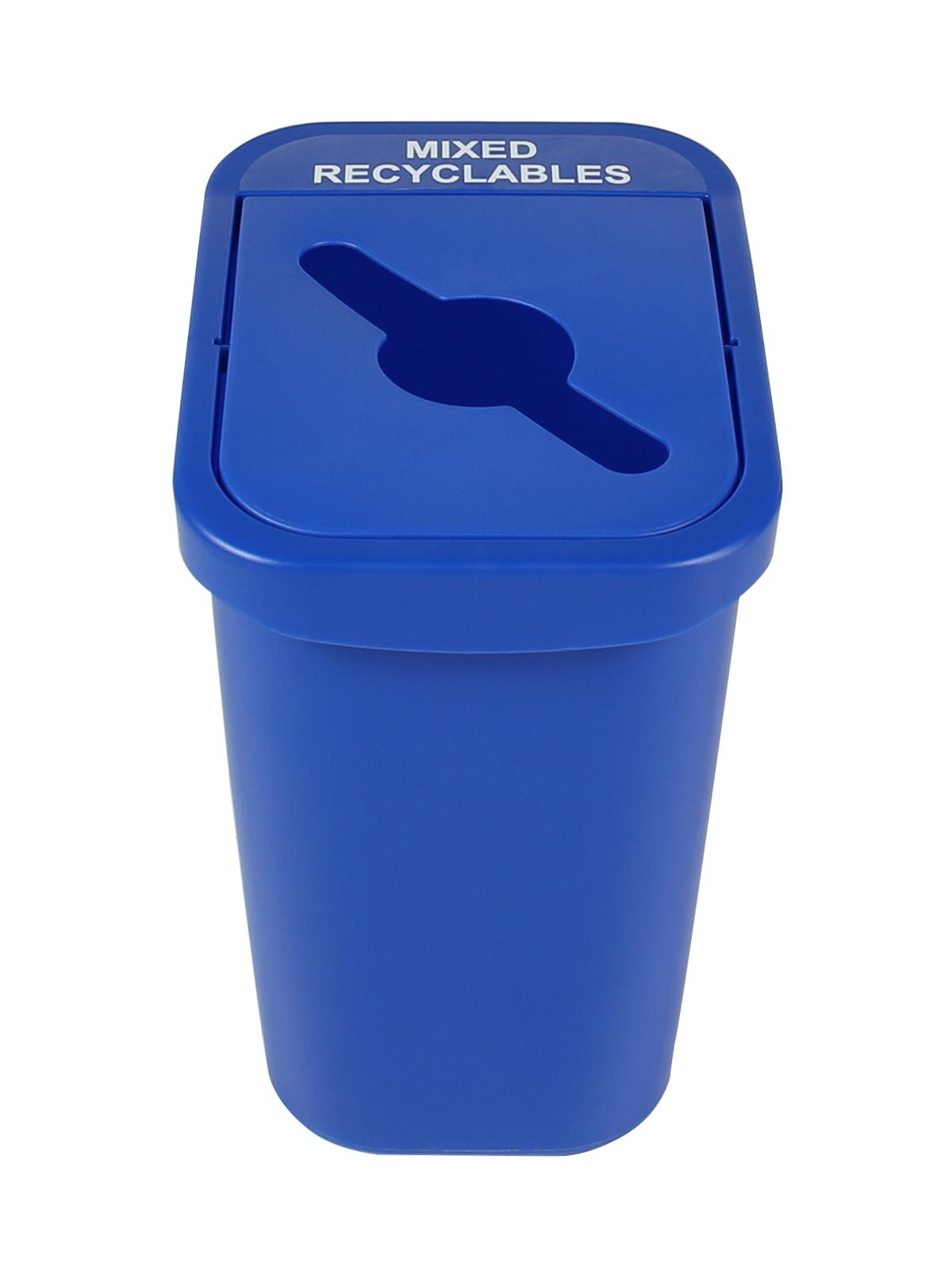 BILLI BOX - Single - 7 G - Mixed Recyclables - Mixed - Blue