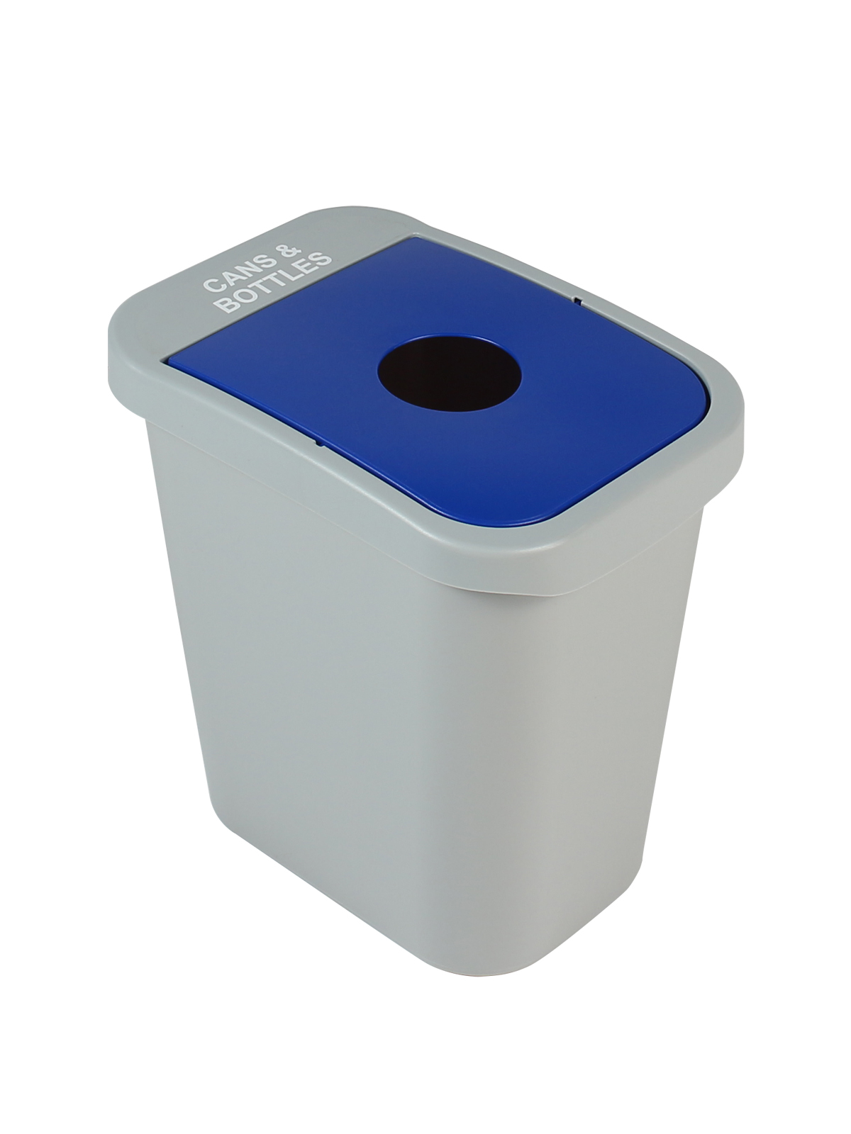 BILLI BOX - SINGLE 7 G - CIRCLE - GREY | BLUE - CANS & BOTTLES title=