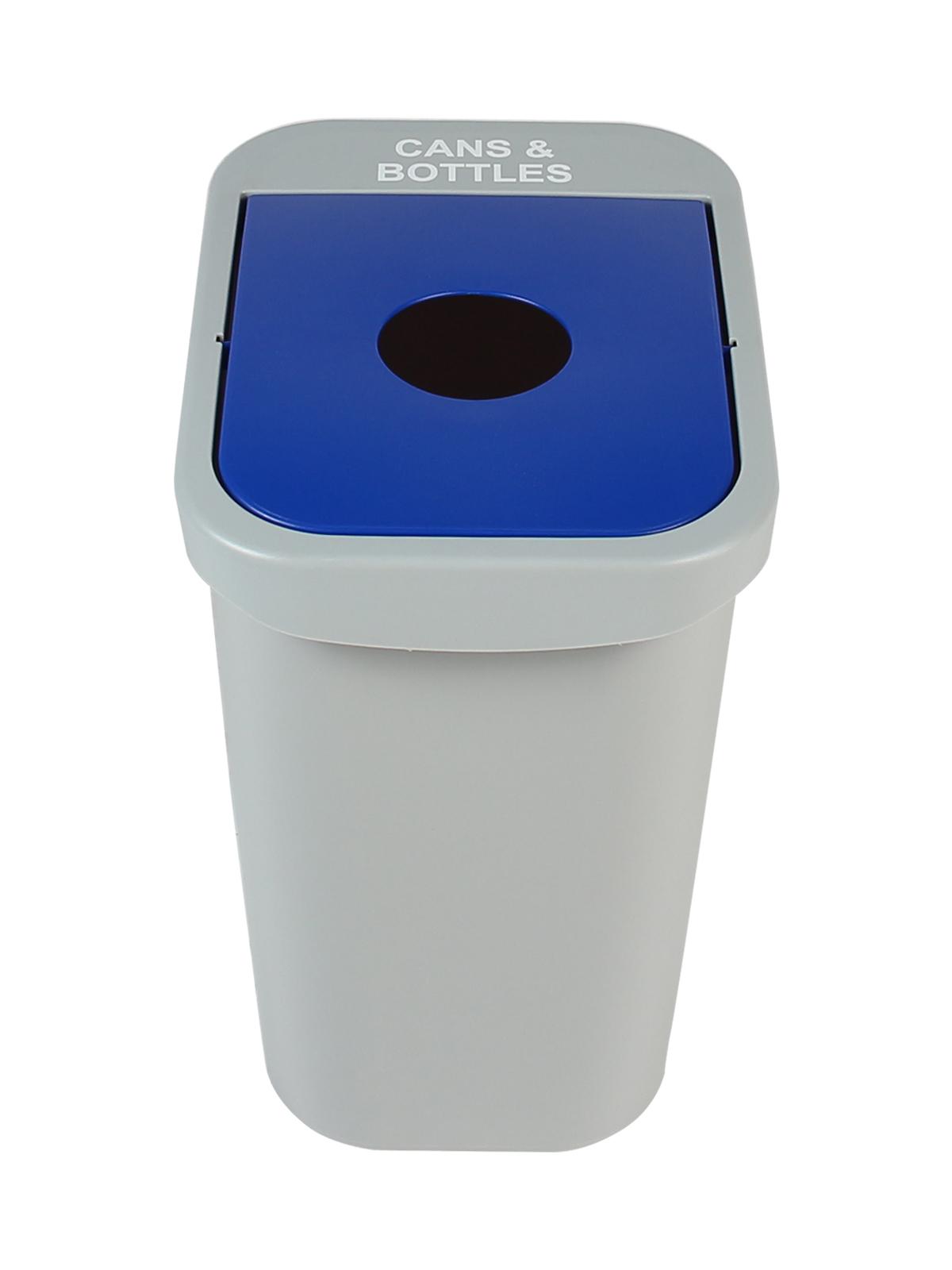 BILLI BOX - Single - 7 G - Cans & Bottles - Circle - Grey-Blue