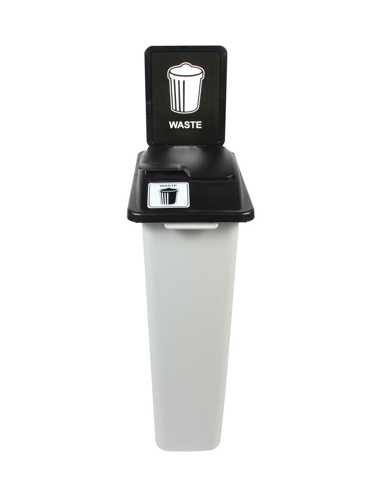 WASTE WATCHER - Single - Waste - Solid Lift - Grey-Black