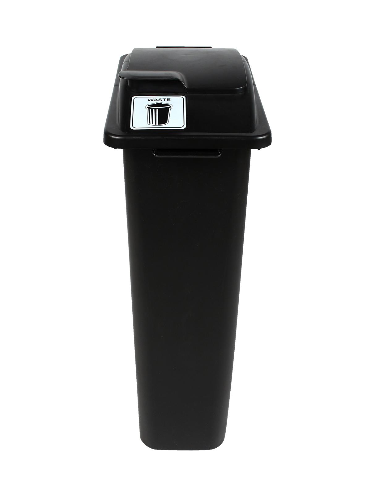 WASTE WATCHER - Single - Waste - Solid Lift - Black