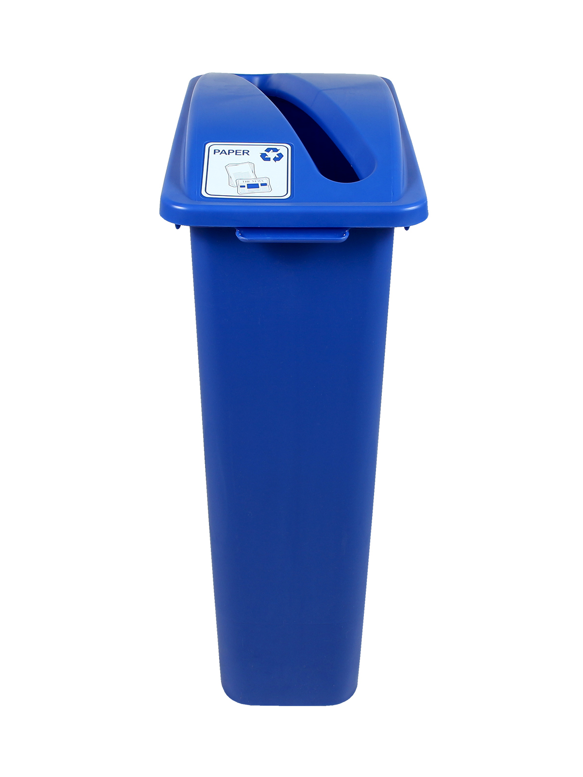 WASTE WATCHER - Single - Paper - Slot - Blue
