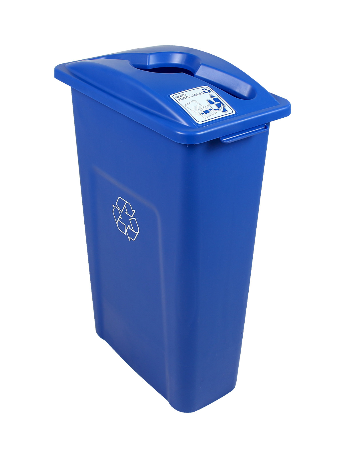 WASTE WATCHER - Single - Mixed Recyclables - Mixed - Blue