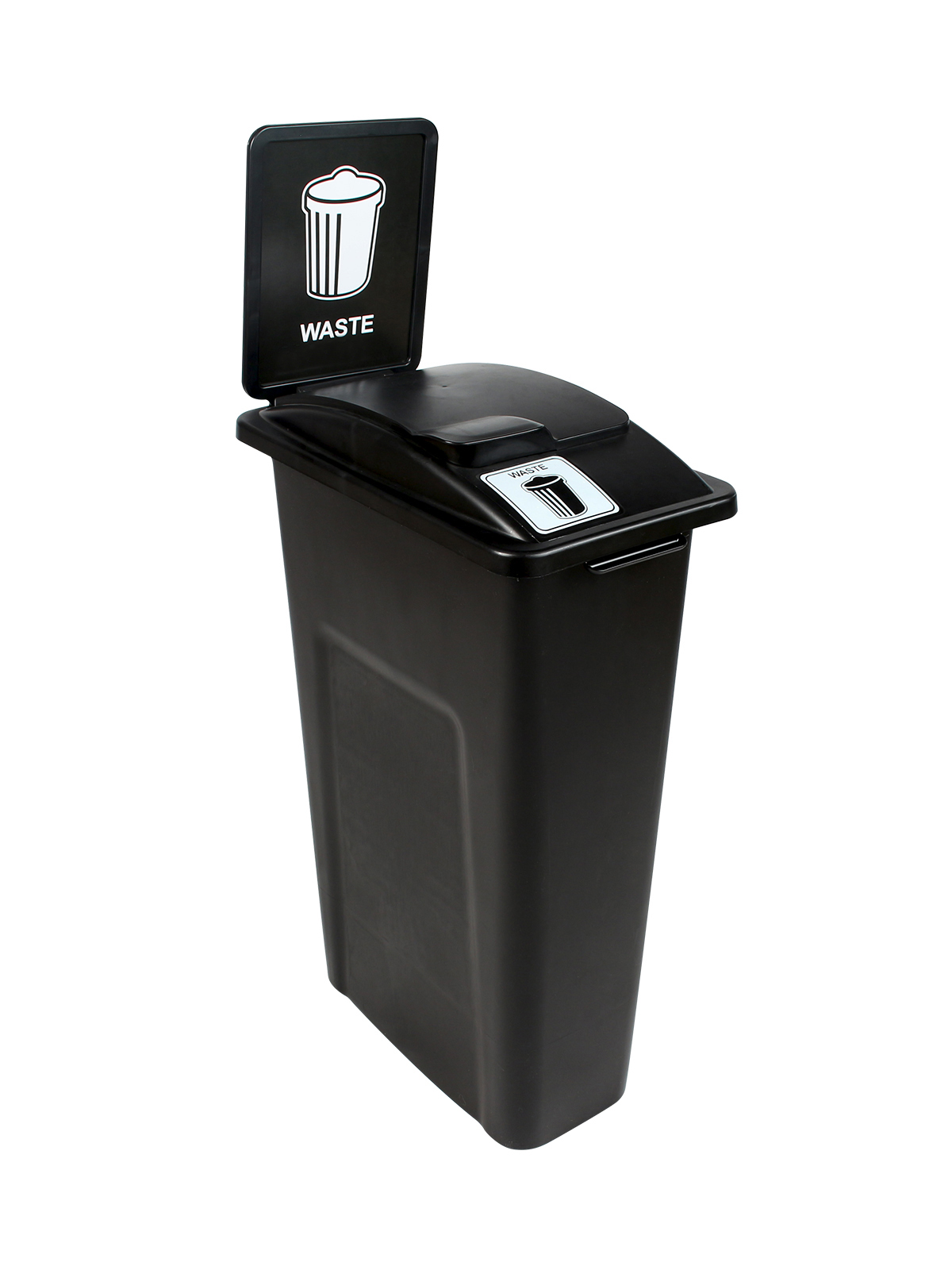 WASTE WATCHER - Single - Waste - Solid Lift - Black