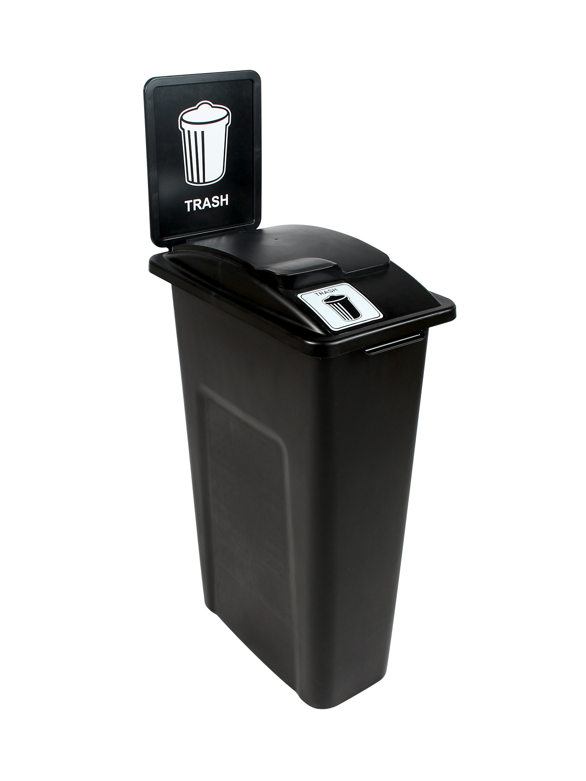 WASTE WATCHER - Single - Trash - Solid Lift - Black