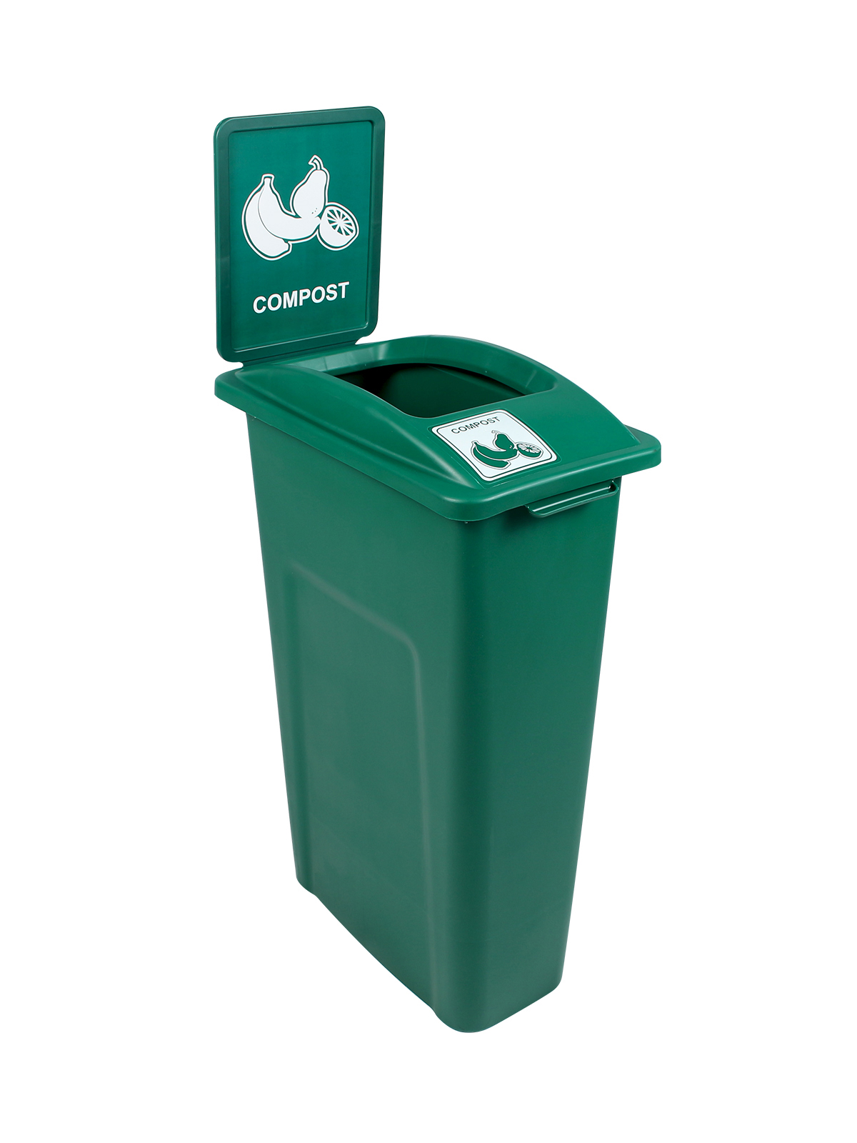 KIT WW 30 SINGLE - BDY/LID/SF - GRN COMPOST