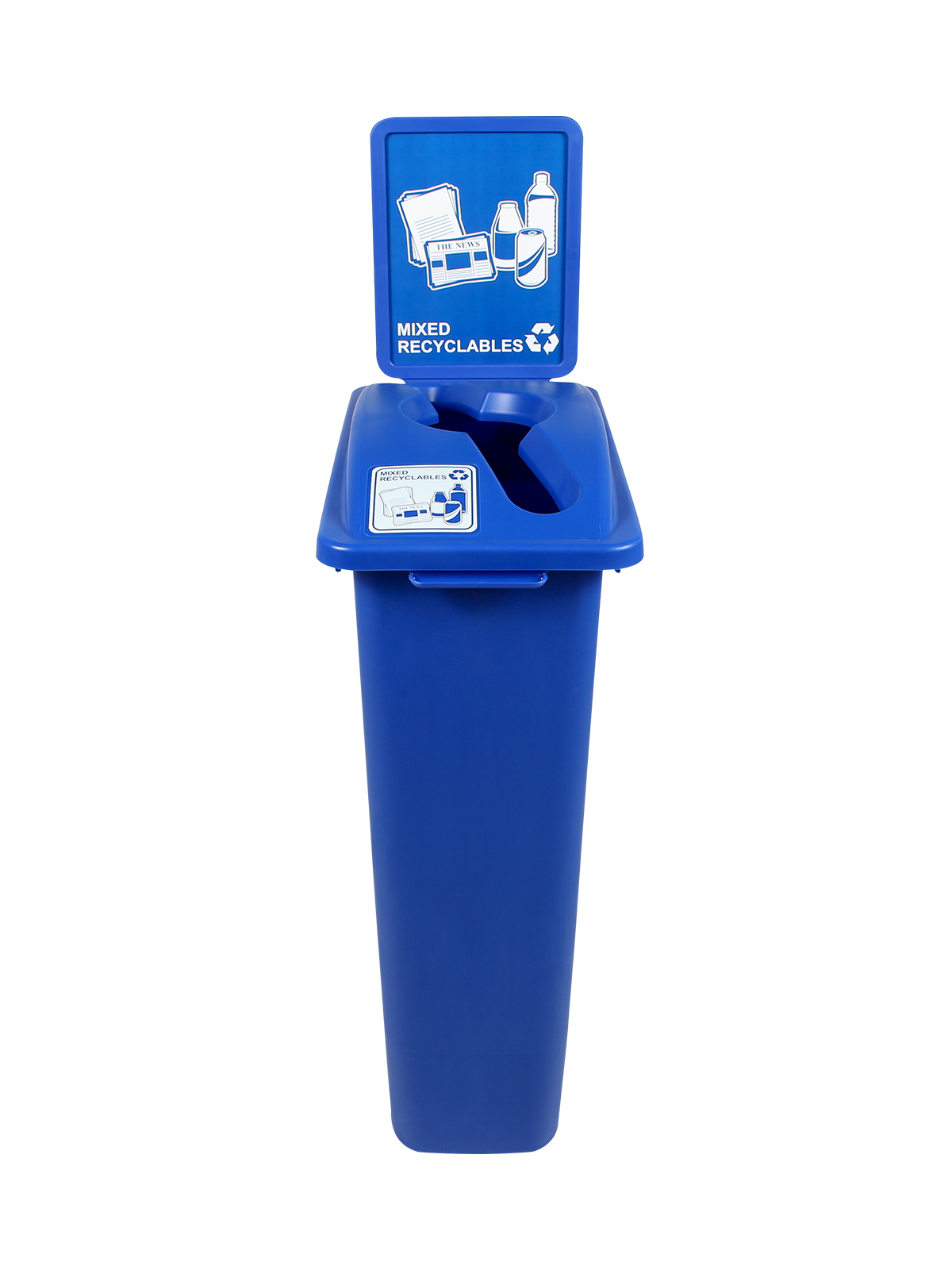 KIT WW 30 SINGLE - BDY/LID/SF - BLUE MIXED RECYCLABLES