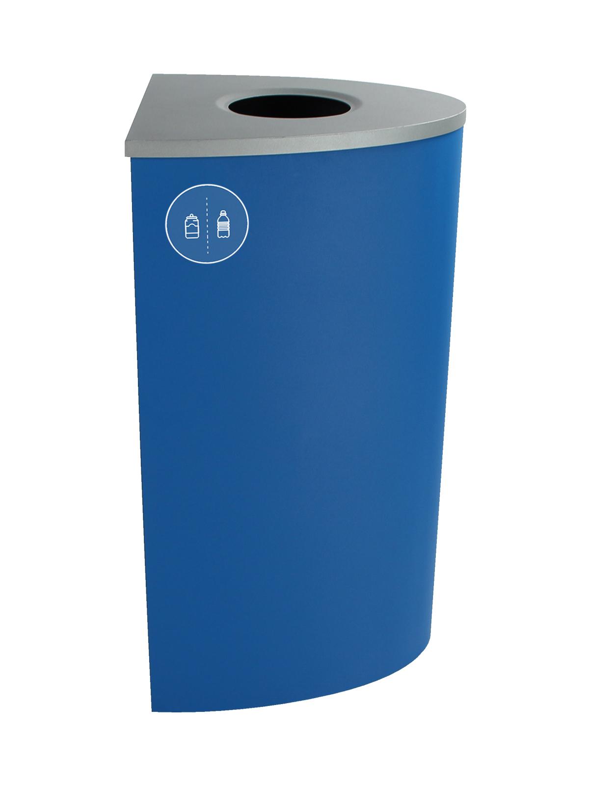 SPECTRUM - Single - Ellipse - Cans & Bottles - Circle - Blue