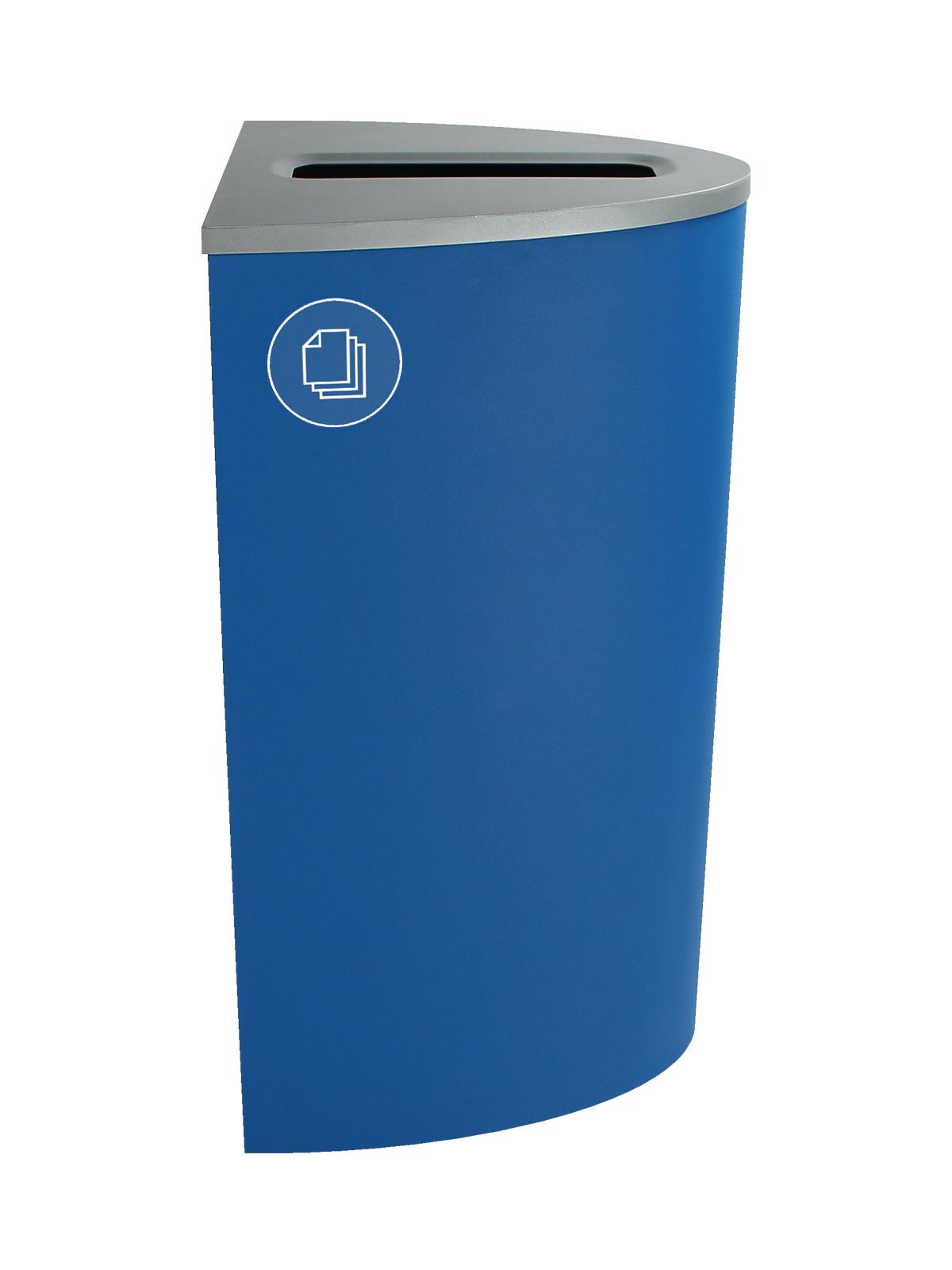 SPECTRUM - Single - Ellipse - Paper - Slot - Blue