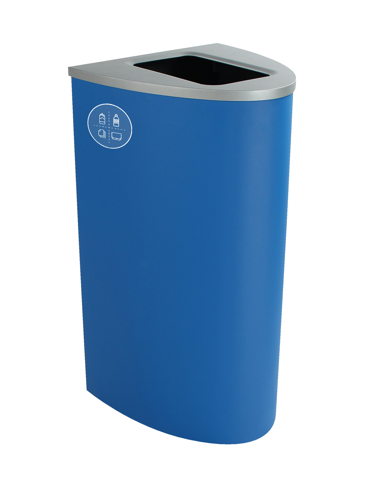 SPECTRUM - Single - Ellipse - Mixed Recyclables - Full - Blue