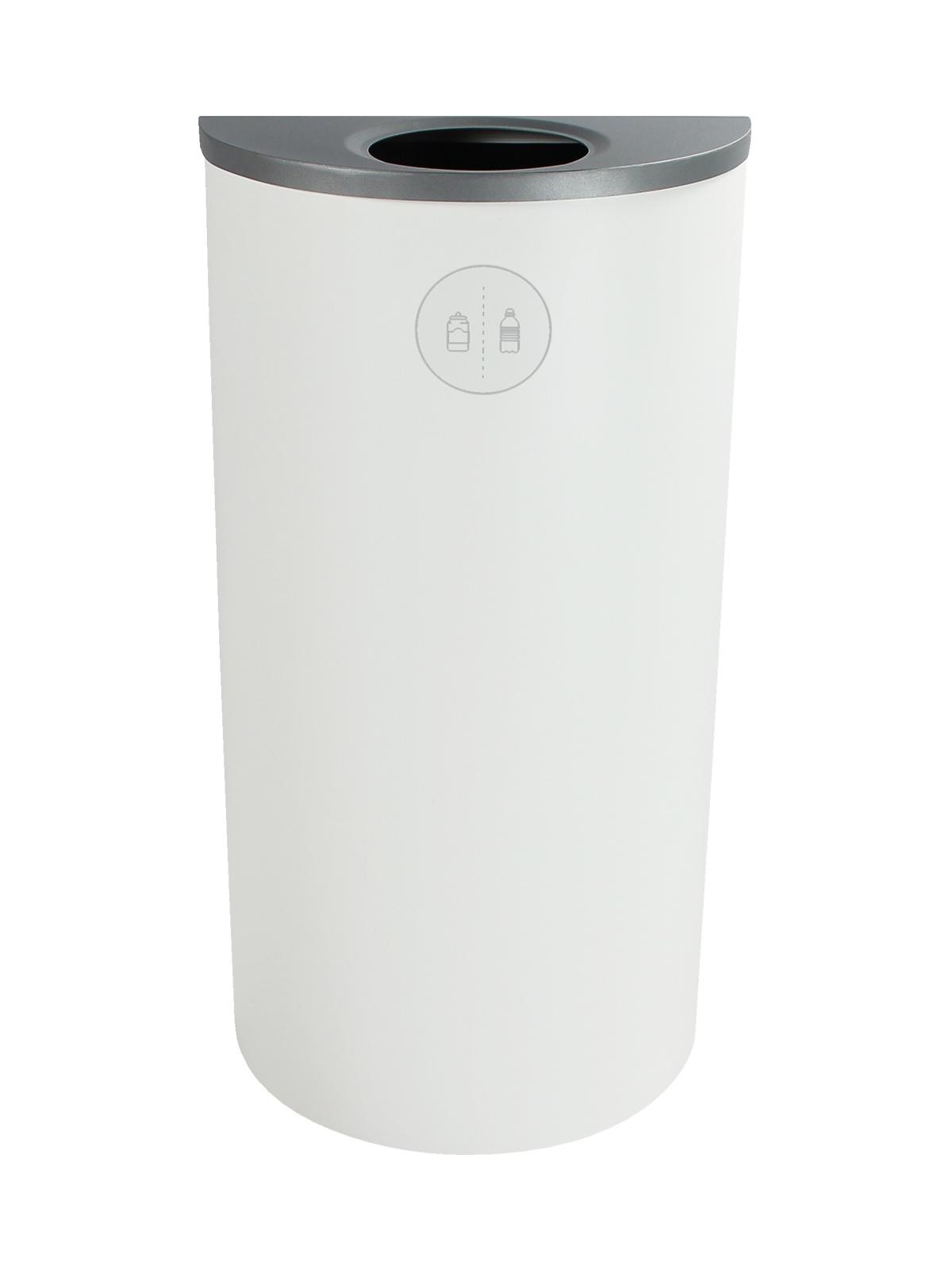 SPECTRUM - Single - Ellipse Slim - Cans & Bottles - Circle - White