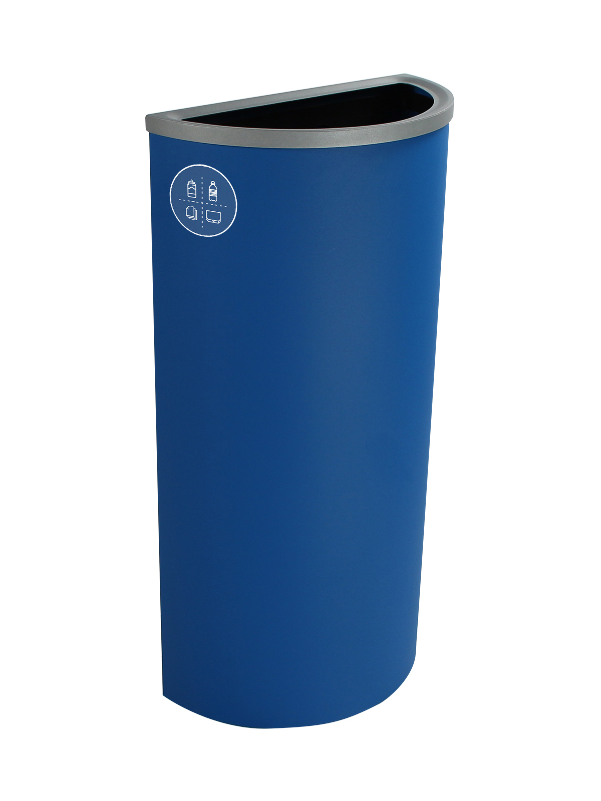 SPECTRUM - Single - Ellipse Slim - Mixed Recyclables - Full - Blue