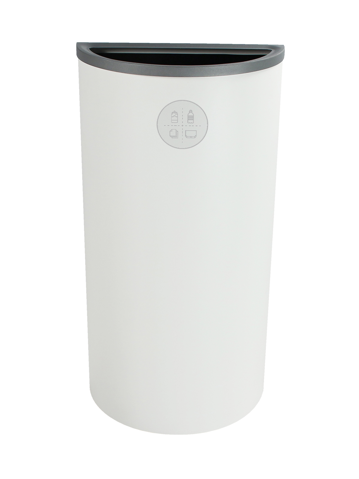 SPECTRUM - Single - Ellipse Slim - Mixed Recyclables - Full - White