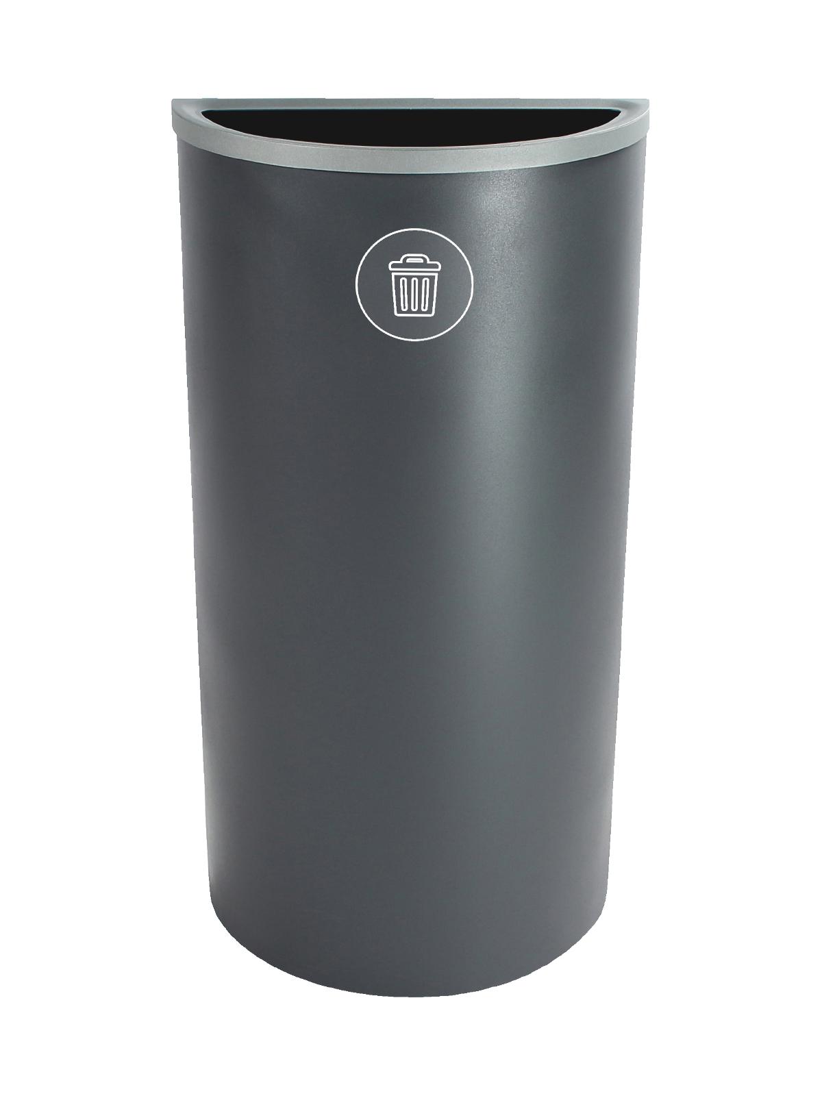 SPECTRUM - Single - Ellipse Slim - Waste - Full - Grey