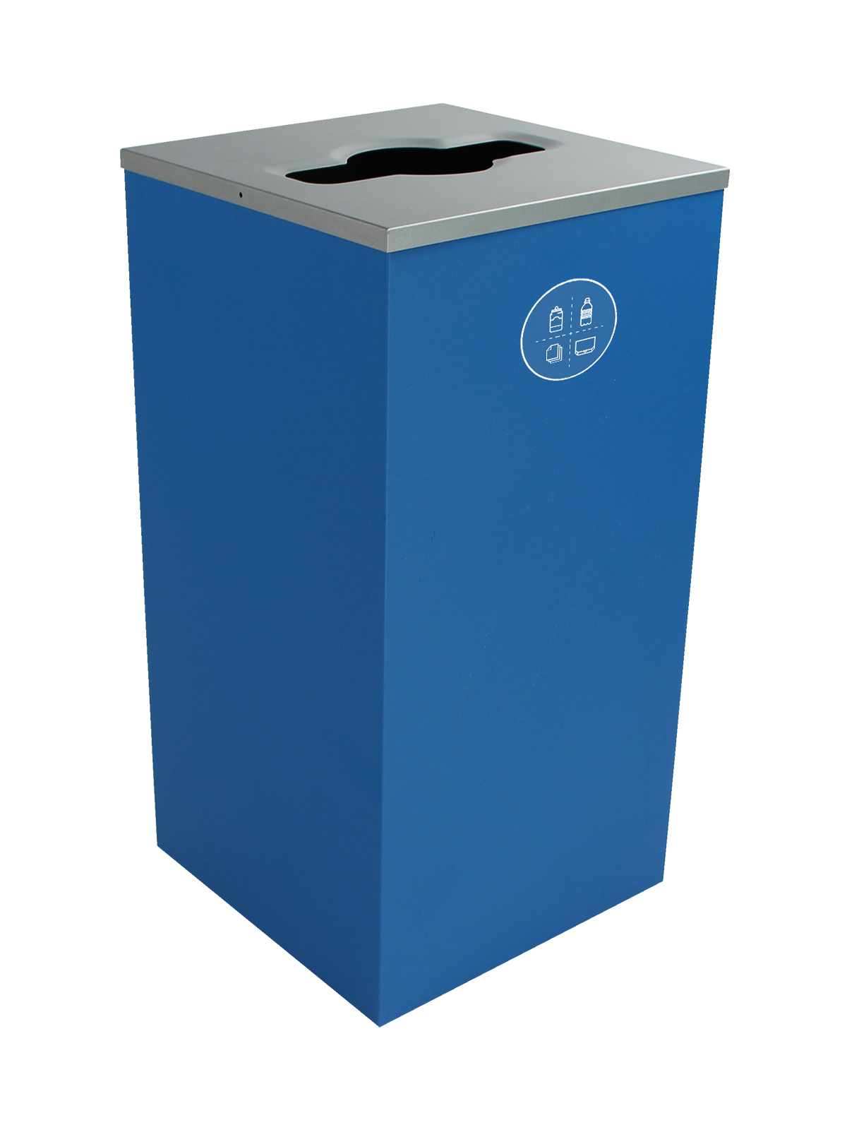 SPECTRUM - Single - Cube - Mixed Recyclables - Mixed - Blue