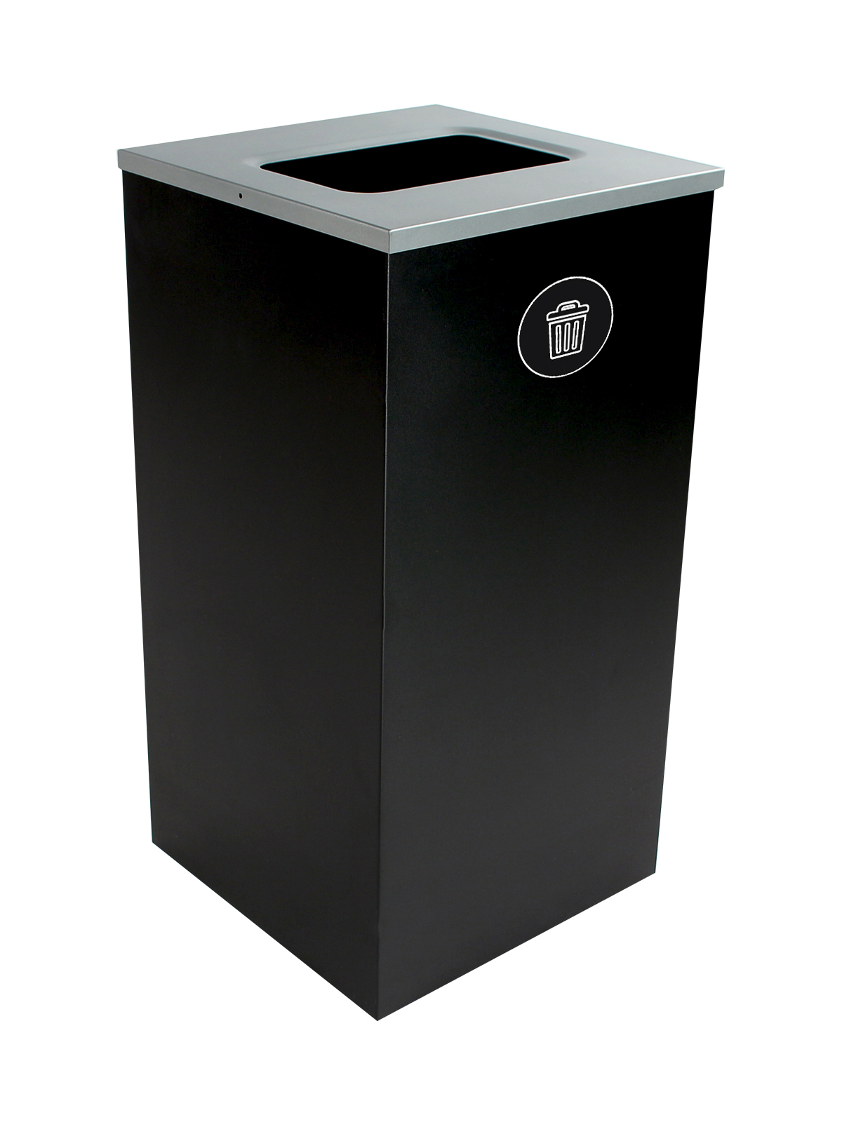 SPECTRUM - Single - Cube - Waste - Full - Black