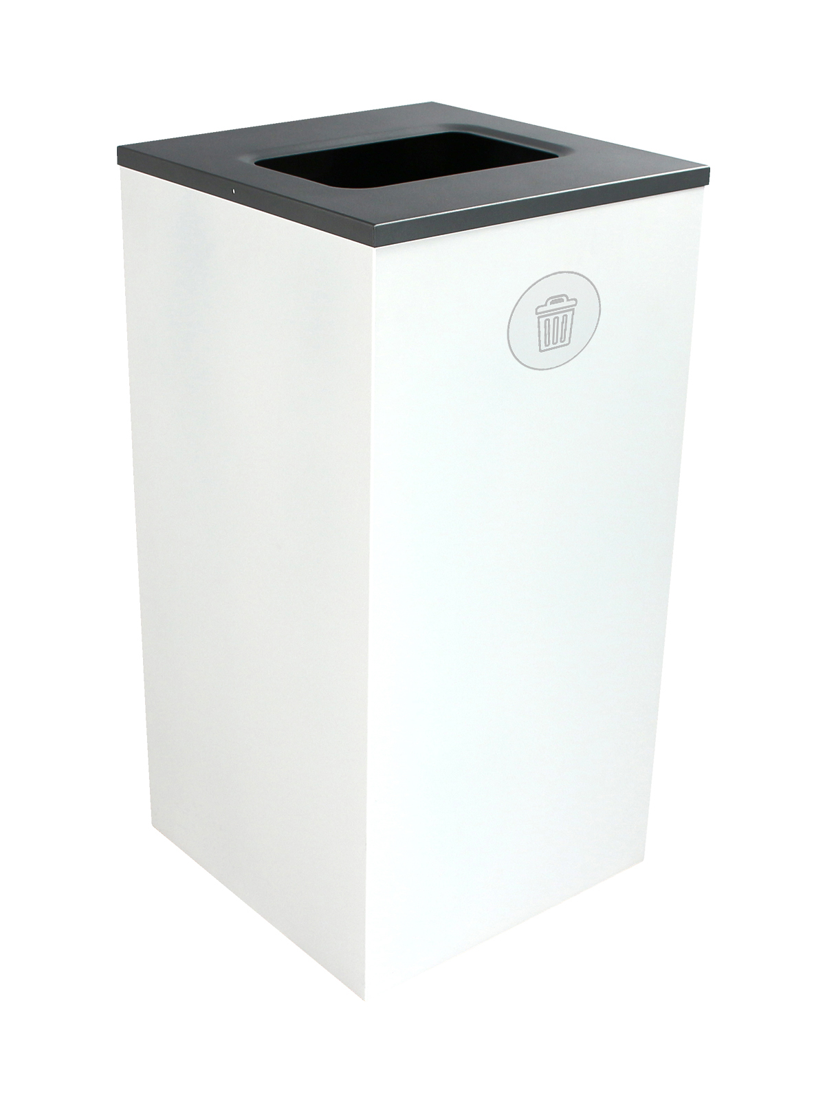 SPECTRUM - Single - Cube - Waste - Full - White