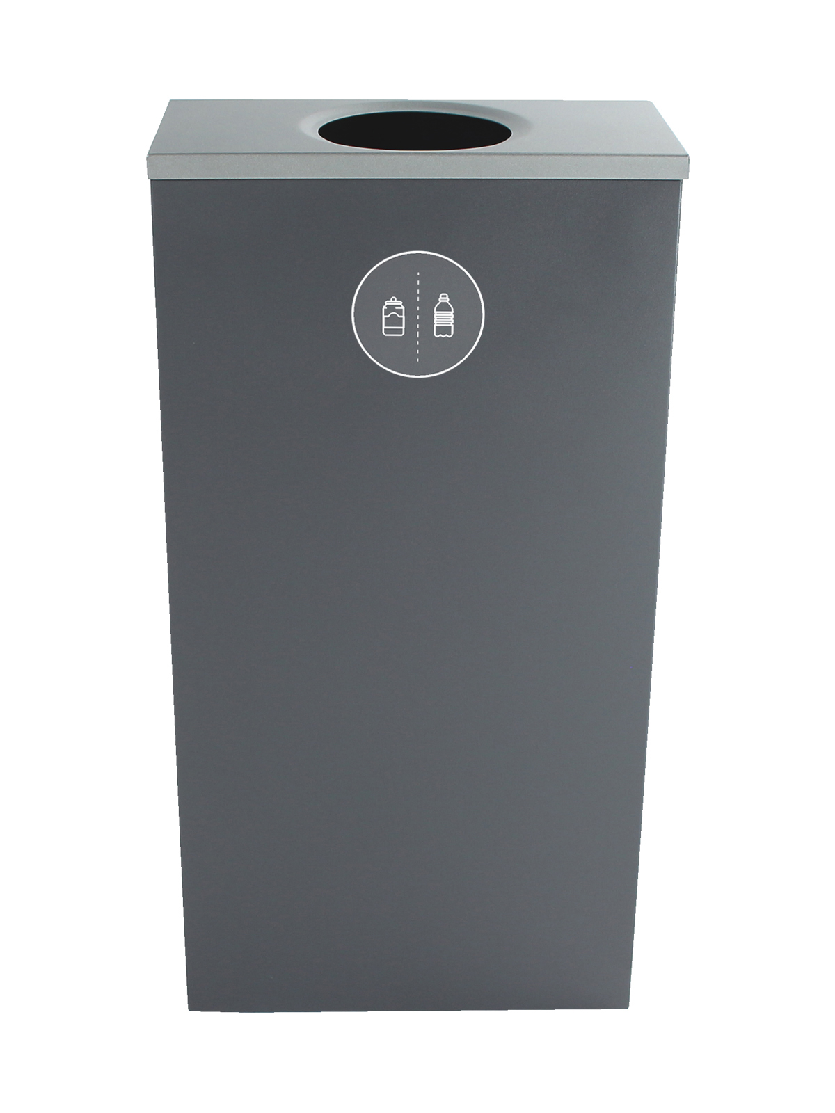 SPECTRUM - Single - Cube Slim - Cans & Bottles - Circle - Grey