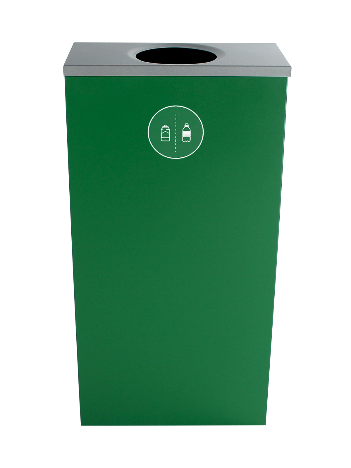 SPECTRUM - Single - Cube Slim - Cans & Bottles - Circle - Dark Green