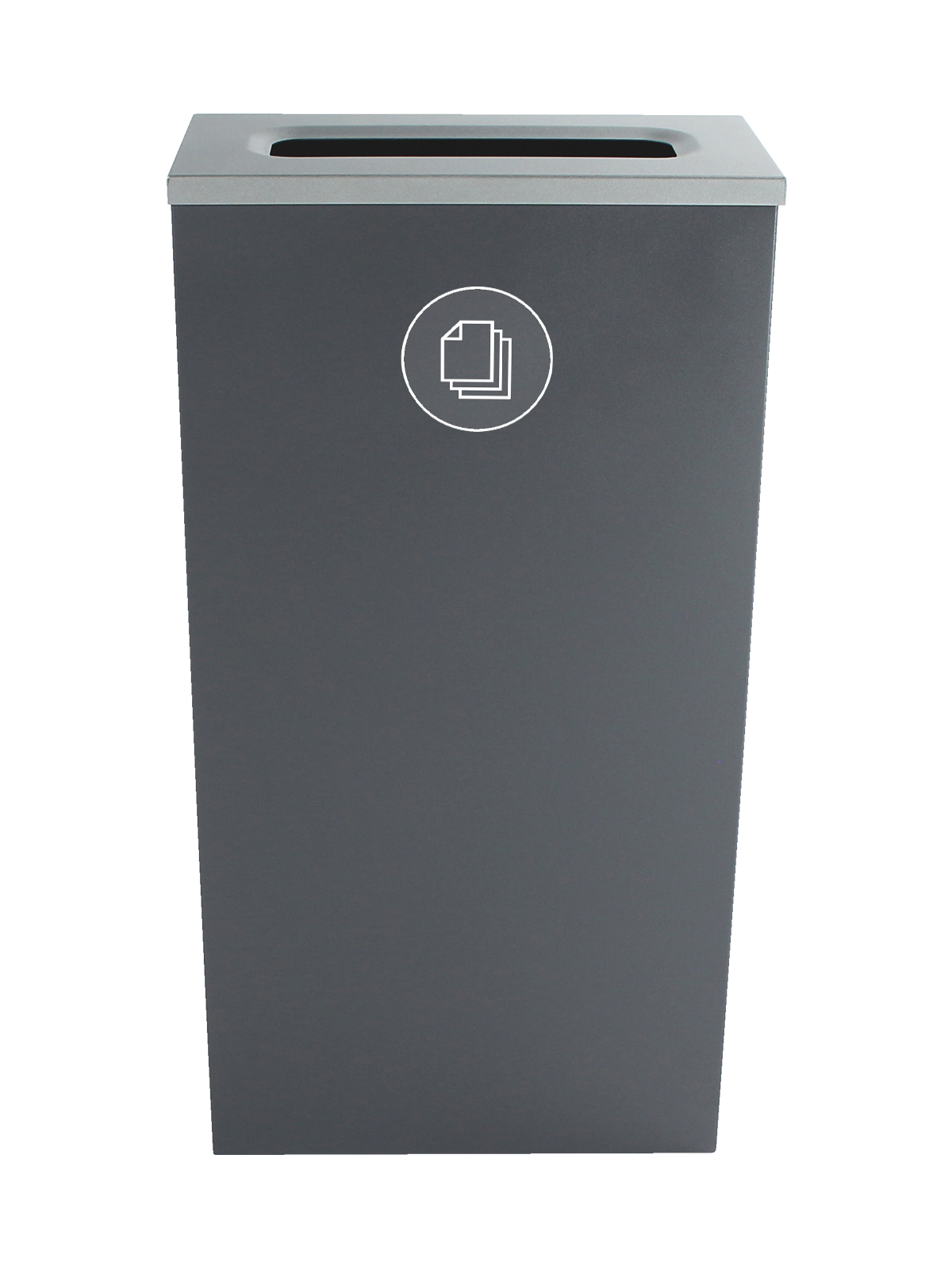 SPECTRUM - Single - Cube Slim - Paper - Slot - Grey