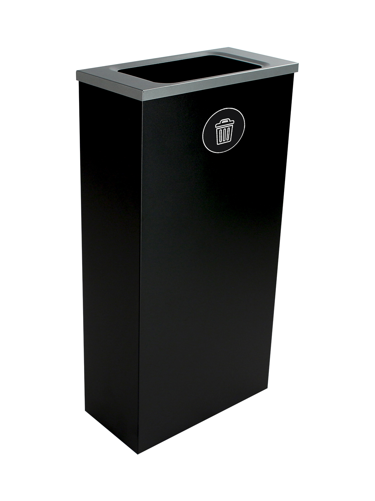 SPECTRUM - Single - Cube Slim - Waste - Full - Black