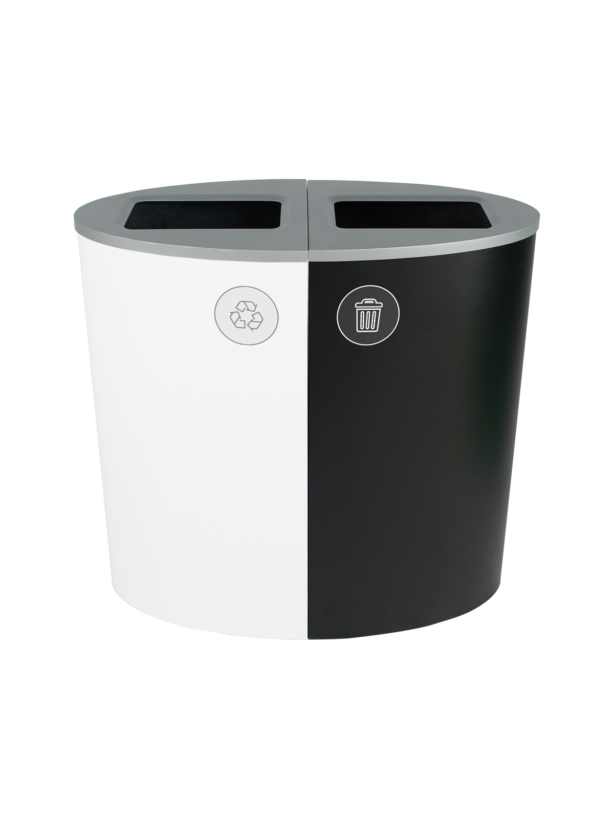 SPECTRUM - Double - Mobius Loop-Waste - Full - White-Black