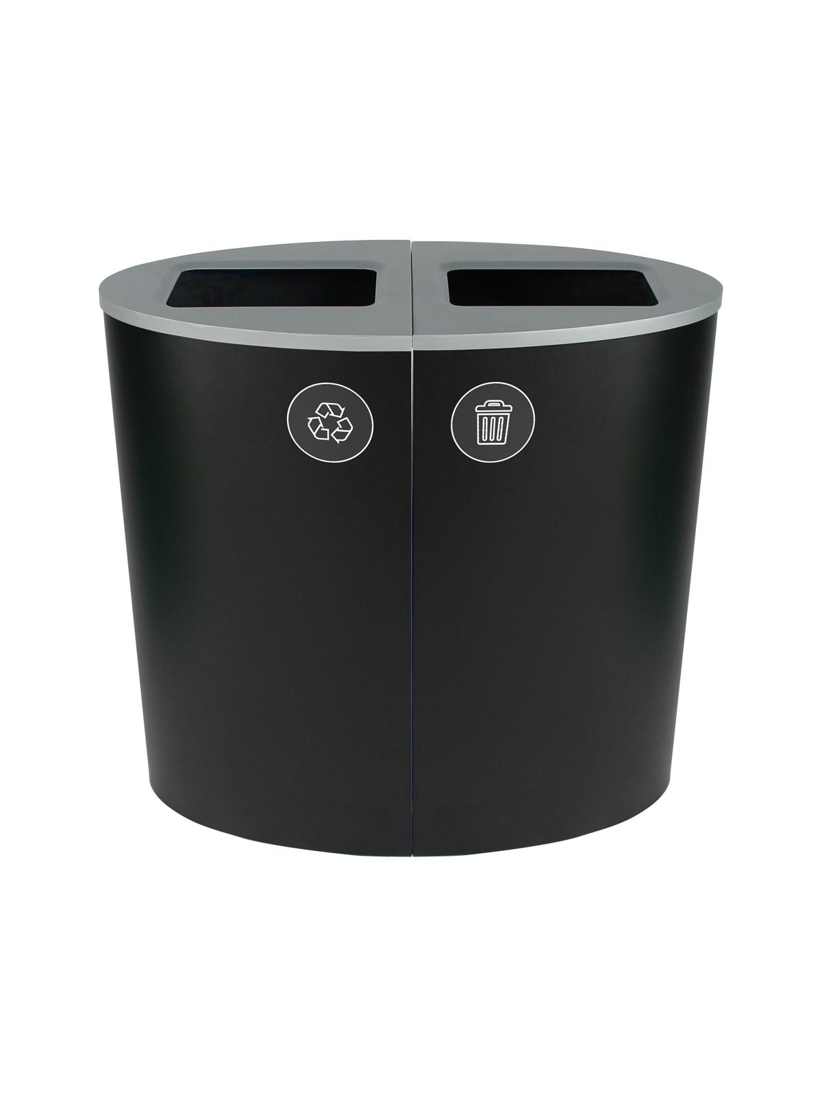 SPECTRUM - Double - Mobius Loop-Waste - Full - Black