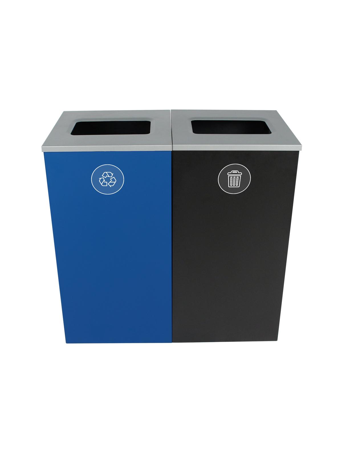 SPECTRUM - Double - Mobius Loop-Waste - Full - Blue-Black