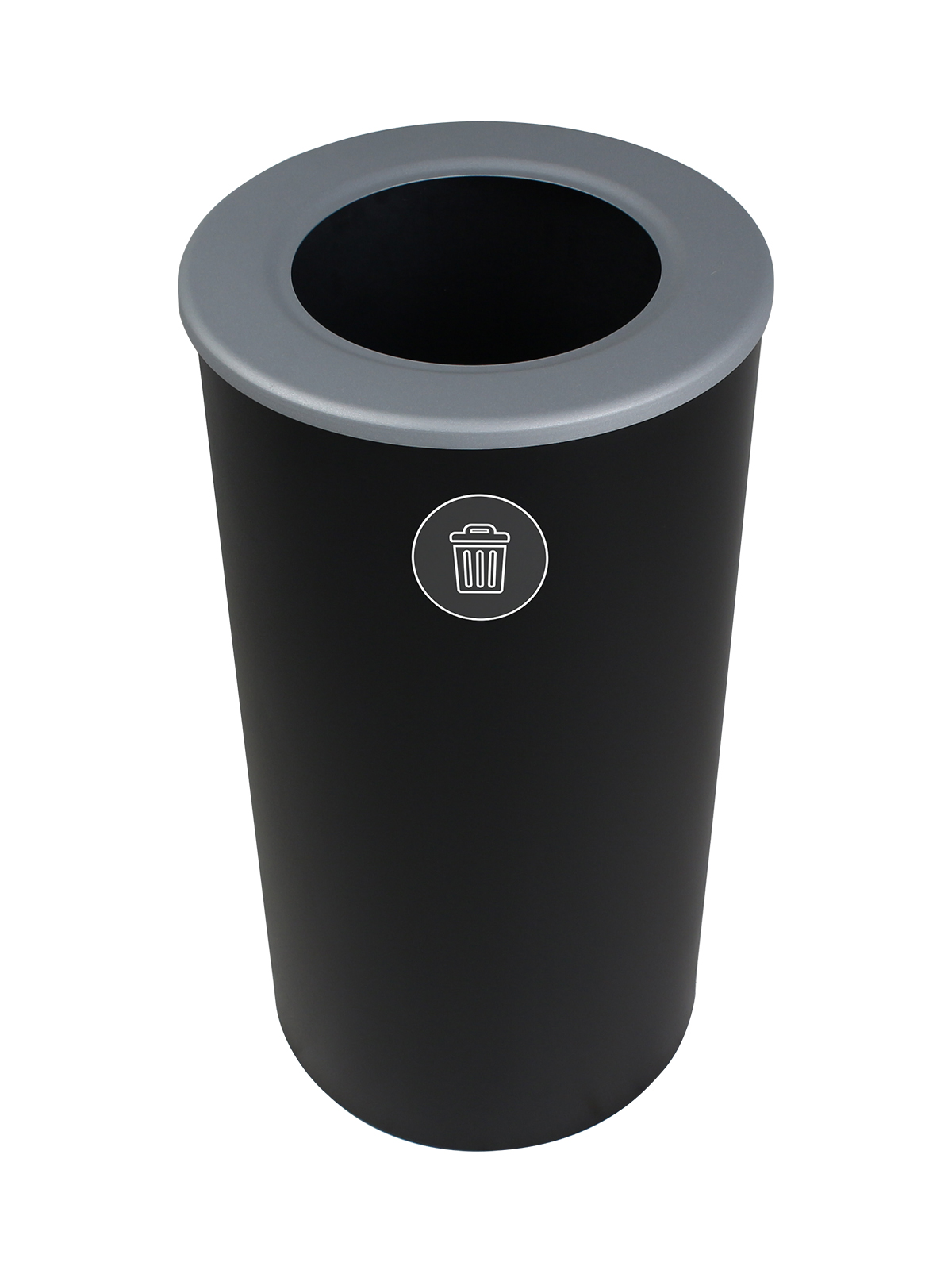 SPECTRUM - Single - Round - Waste - Full - Black