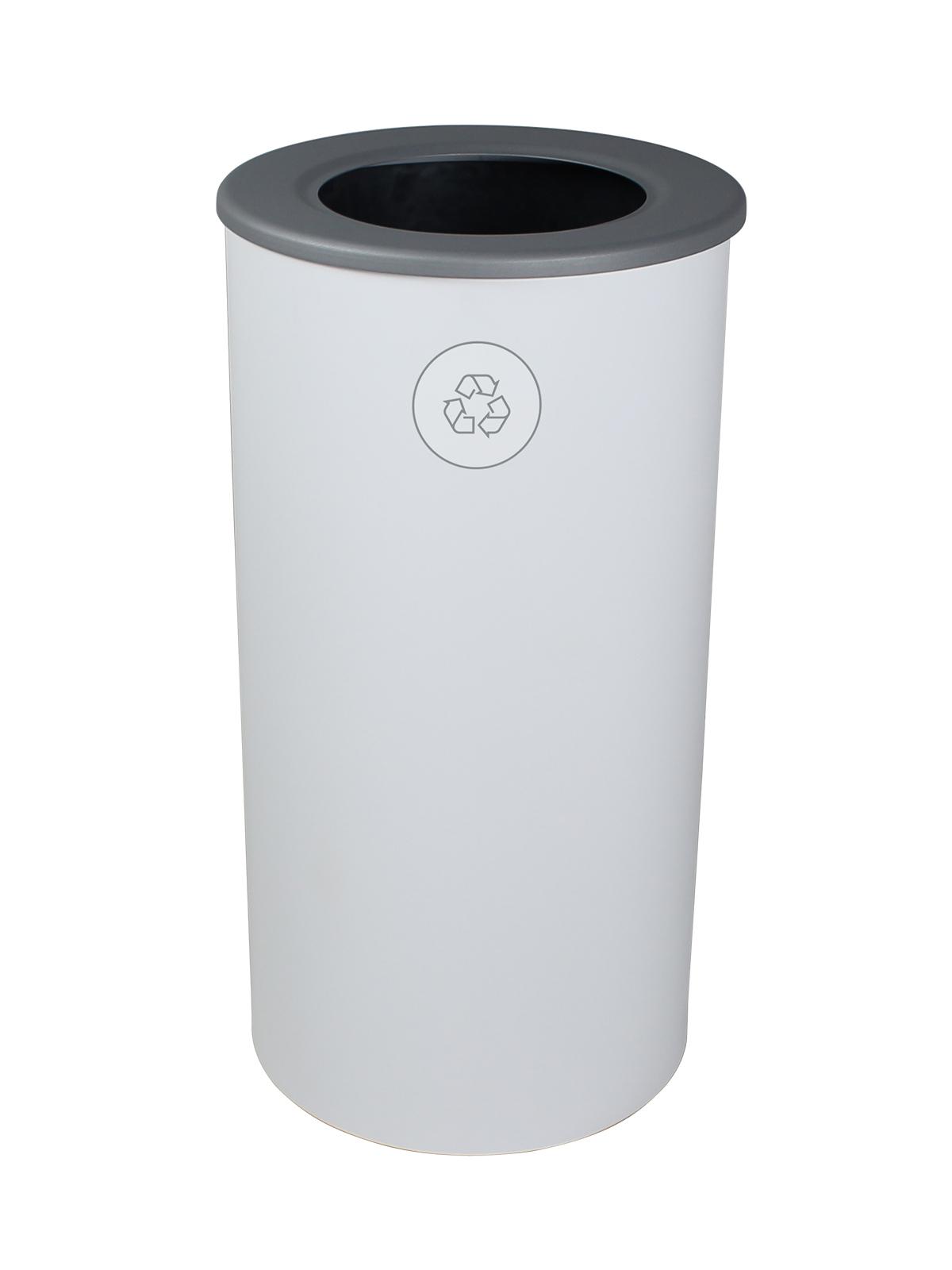 SPECTRUM - Single - Round - Mobius Loop - Full - White