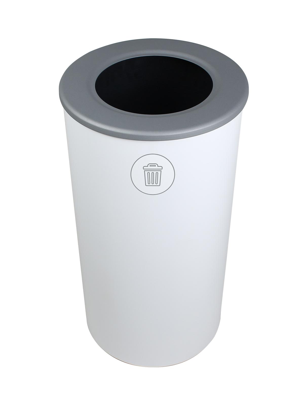 SPECTRUM - Single - Round - Waste - Full - White
