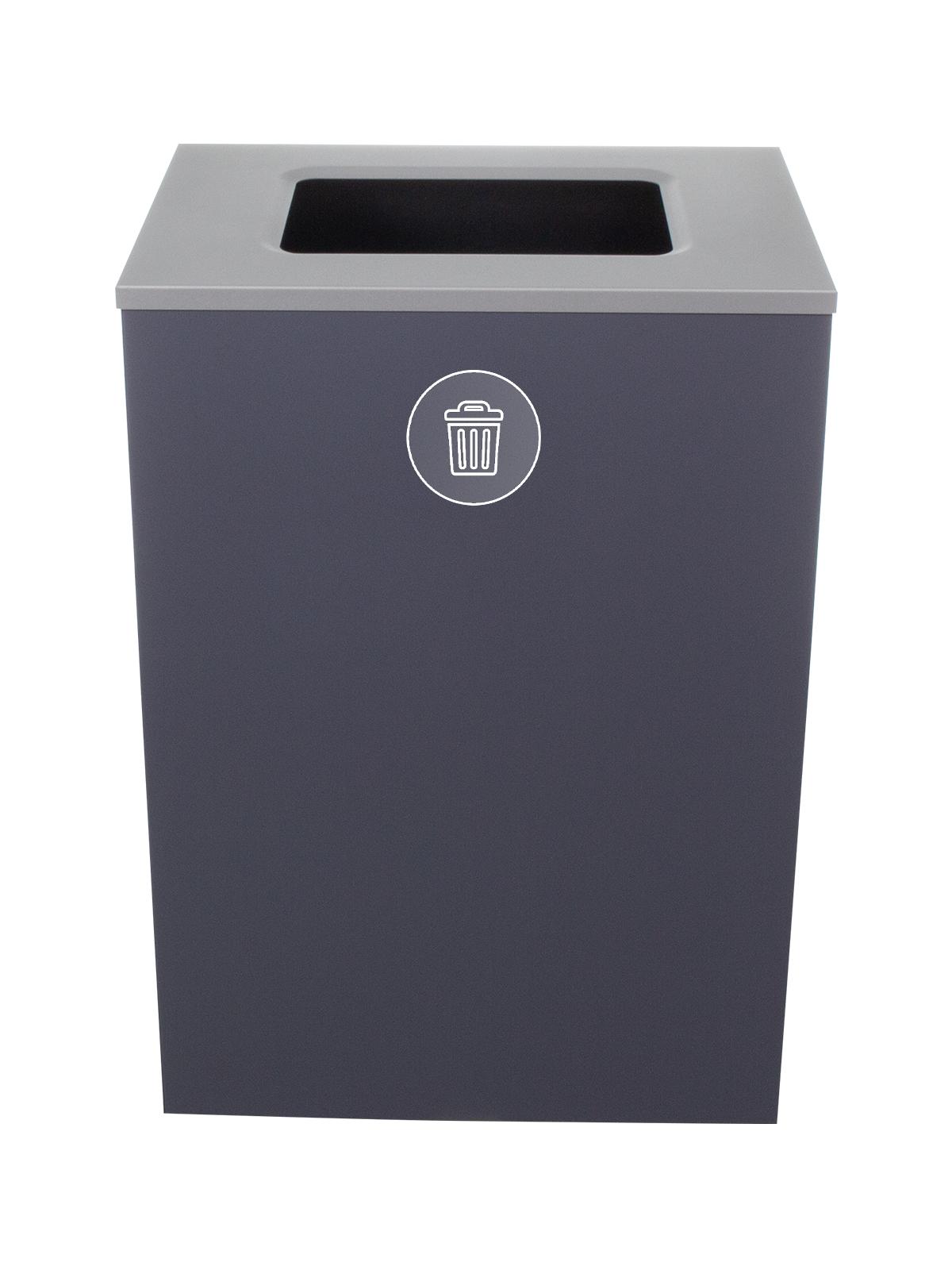 SPECTRUM - Single - Cube Xl - Waste - Full - Grey-Silver