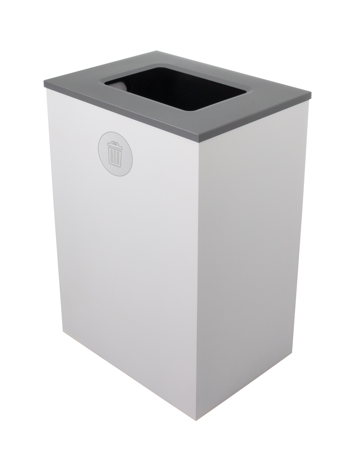 SPECTRUM - Single - Cube Xl - Waste - Full - White-Silver
