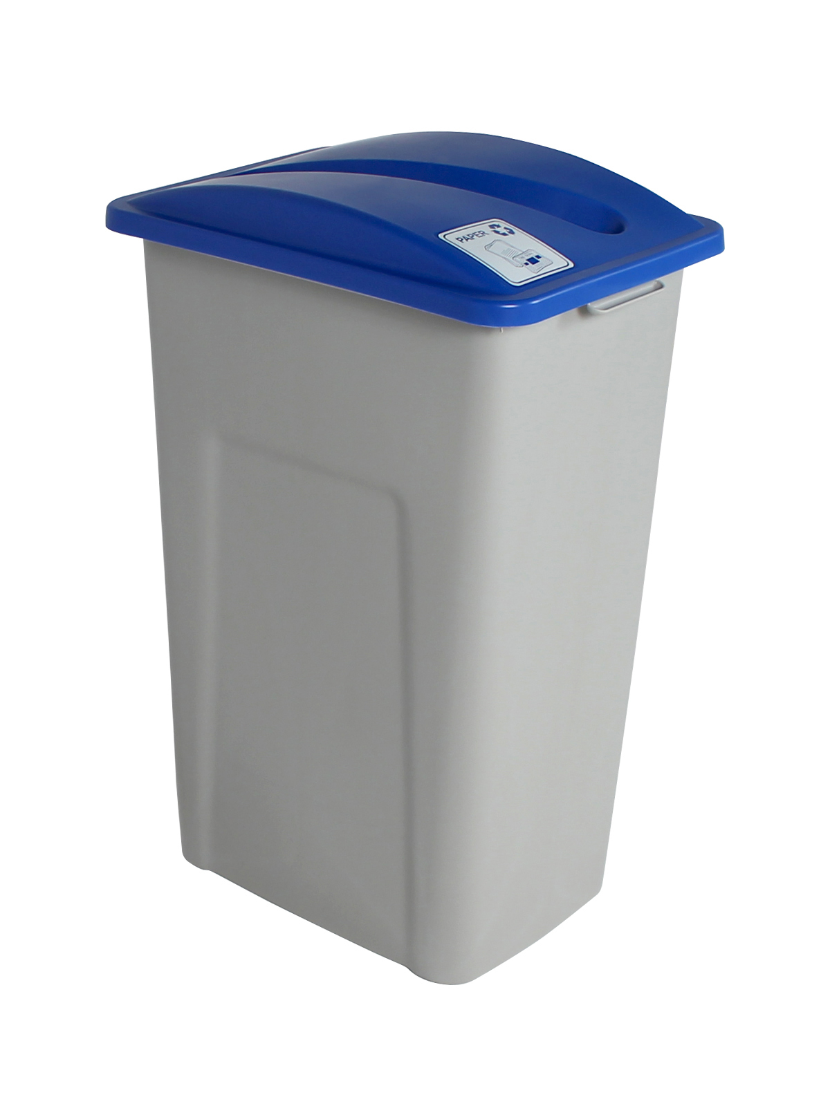 WASTE WATCHER XL - Single - Paper - Slot - Grey-Blue