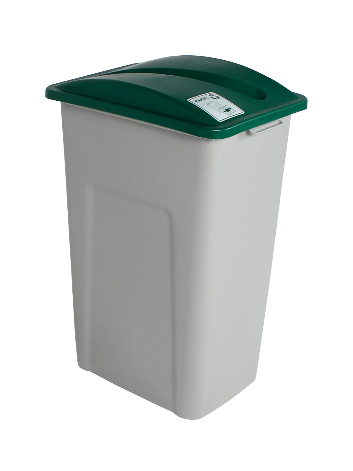 WASTE WATCHER XL - Single - Paper - Slot - Grey-Green