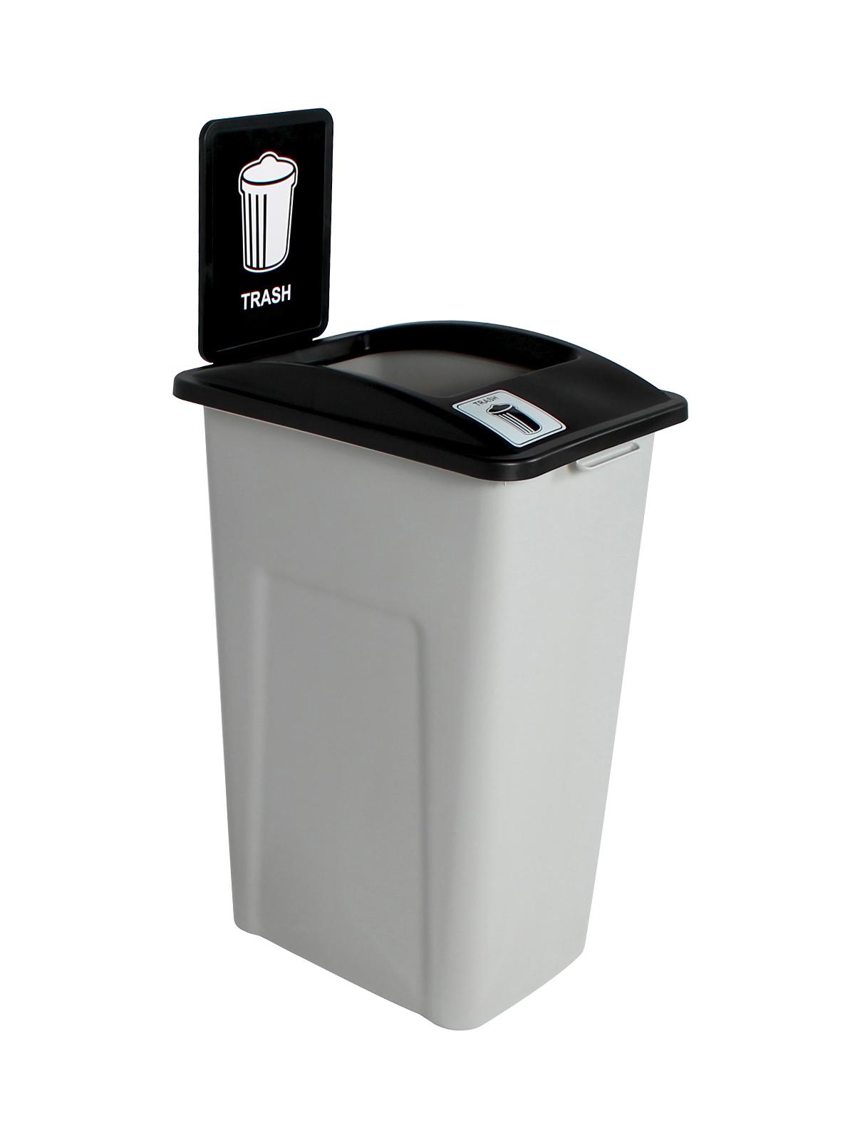 WASTE WATCHER XL - Single - Trash - Full - Grey-Black