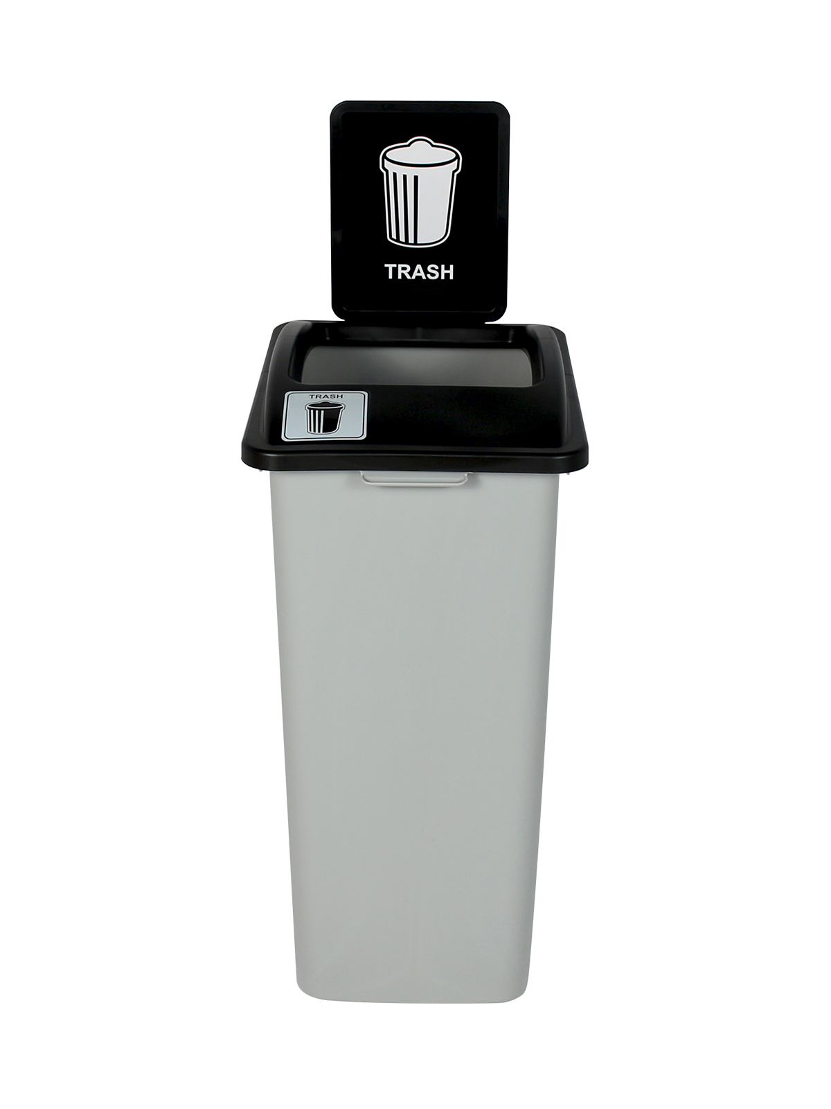 WASTE WATCHER XL - Single - Trash - Full - Grey-Black